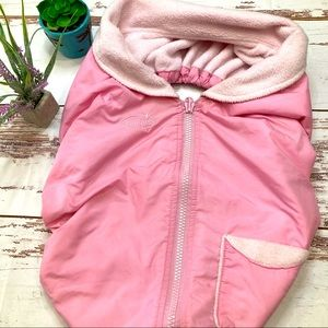 Summer Infant Pink Carseat Cover